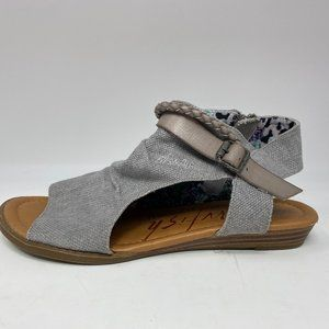BLOWFISH Gray Sandals Size 7